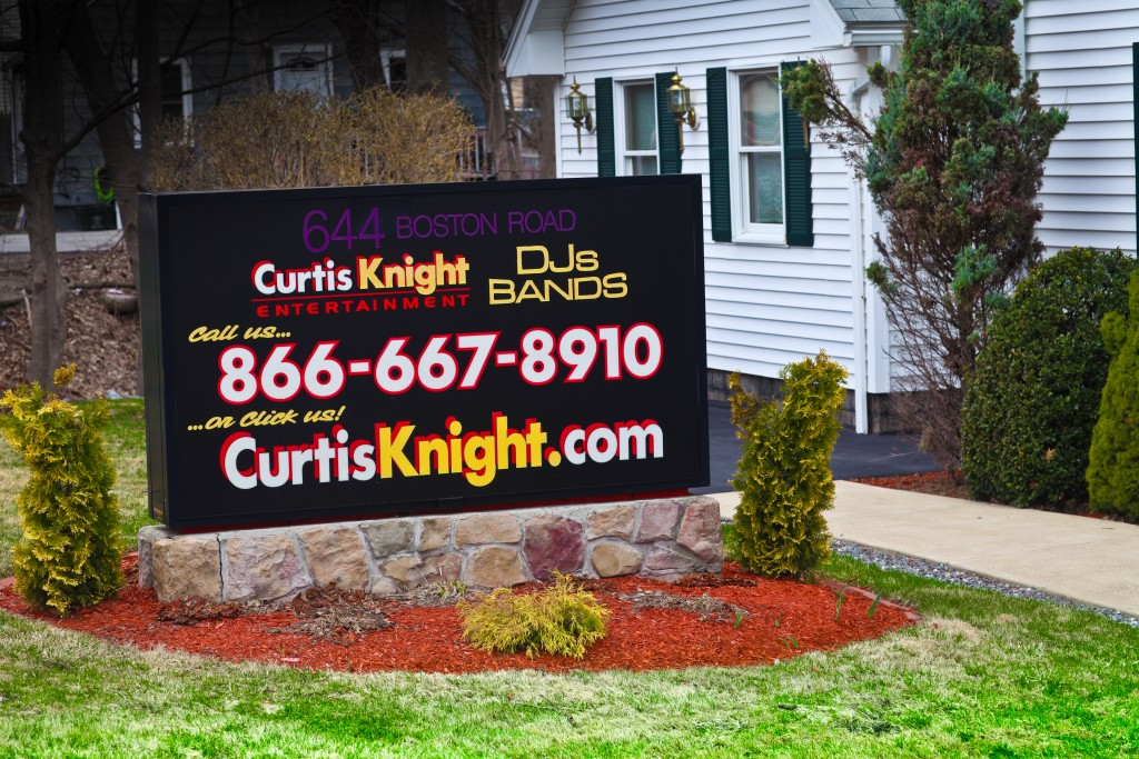CKE Sign Front on lawn