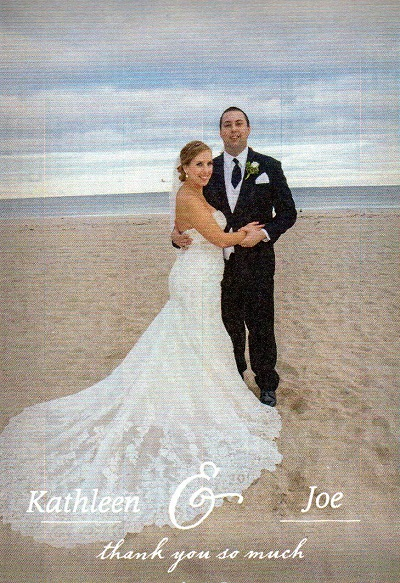 Joe and Kathleen's wedding photos at Hampton Beach!