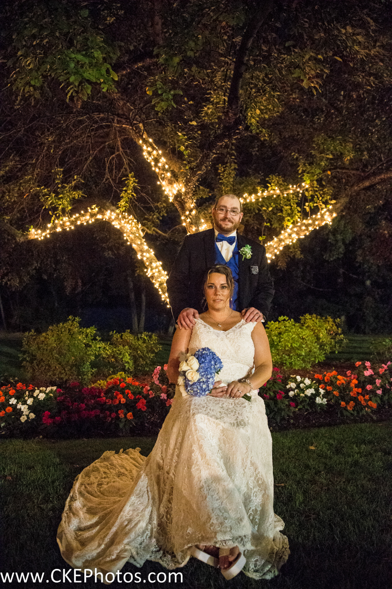 CKE captures a newly married couple underneath gorgeous lights!