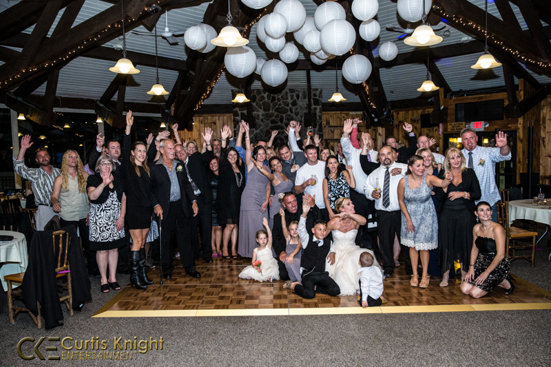 CKE captures the reception of the newly married Duby family!