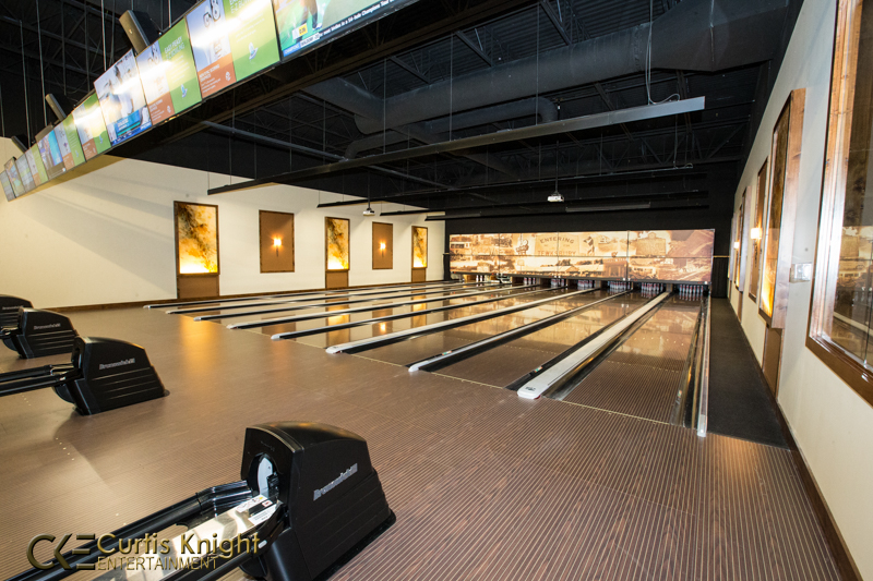 Bowling, games, and more keep the entertainment level to the maximum!