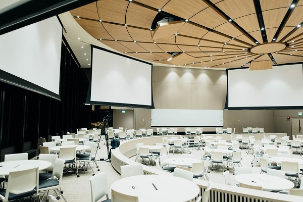 Large Conference room set up with Big screens for Event !
