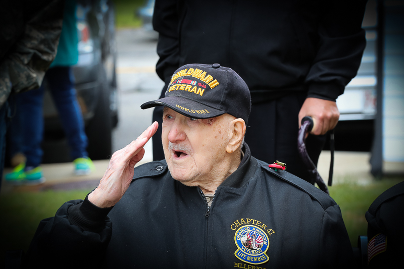 Town of Billerica Memorial Day Celebration - This hero will be 100 on his next birthday