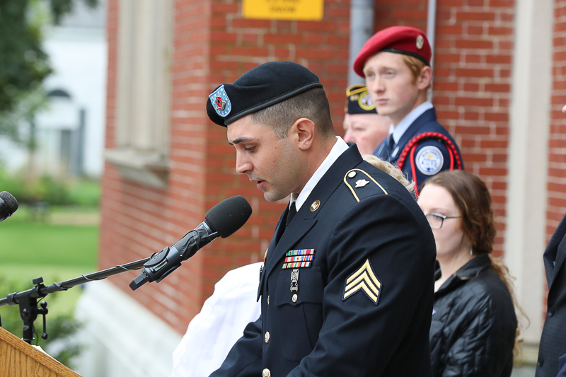 Town of Billerica Memorial Day Celebration. Tribute speech to the patrons who came out to support our fallen Billerica heroes.